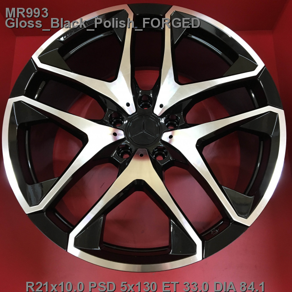 21_5x130_33_10.0J_h 84.1_ REPLICA MERCEDES MR993_Gloss_Black_Polish_FORGED