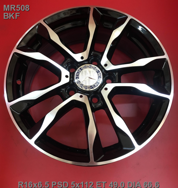 16_5x112_49_6.5J_h 66.6_ REPLICA LEGEARTIS MERCEDES MR508_BKF