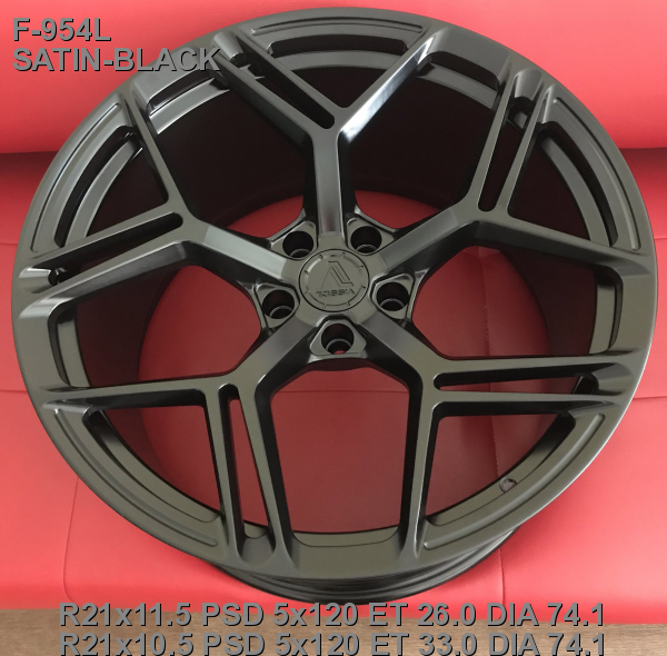 21_5x120_33_10.5J_h 74.1_ VISSOL FORGED F-954L_SATIN-BLACK