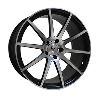 21_5x120_33_10.5J_h 74.1_VISSOL F-190_MATTE-BLACK-WITH-MATTE-POLISHED