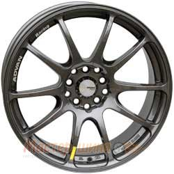 17/5*112/40  7.0J  h 57.1	Advan   832 RZ Dark Gunmetal